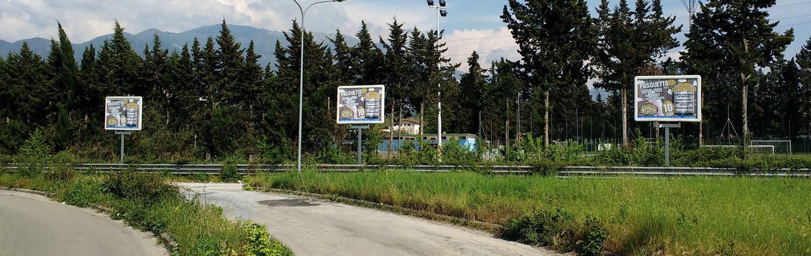 Trio pubblicità istituzionale Cassino